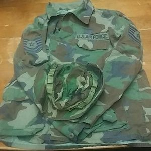 Air Force Jacket, with Sun Hat. A008
